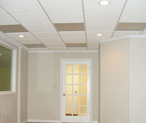 no sag dropped ceilings energy efficient lighting