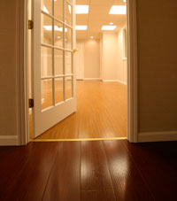 Basement Wood Flooring installed in Philpot, Tennessee and Kentucky