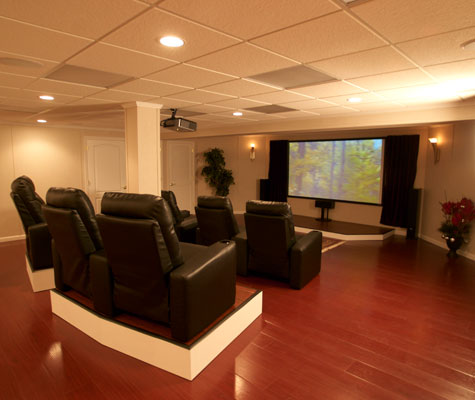 Beautiful wood laminate basement flooring in jackson for Hardwood floors jackson tn