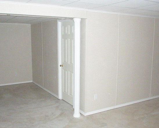 Basement Finishing Panels : Finished basement wall panels in jackson nashville