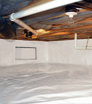 A complete crawl space repair system in Murfreesboro