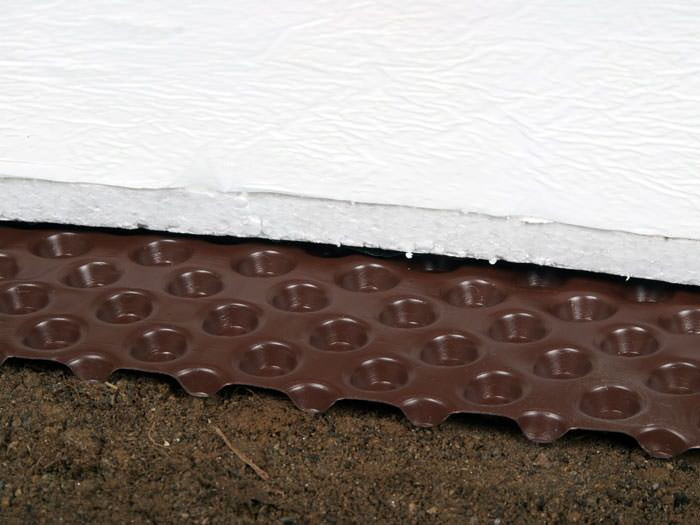 Crawl space insulation with terrablock in clarksville Crawl space flooring