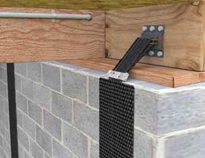Basement Wall Reinforcement Carbonarmor Armorlock Installation
