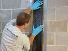 CarbonArmor® Strip applied to wall in Bowling Green