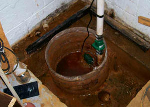 Extreme clogging and rust in a Franklin sump pump system
