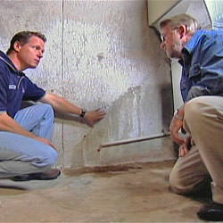 creating a basement waterproofing system with contractors in Tullahoma